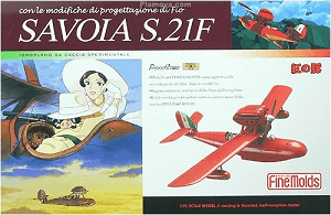 Porco Rosso Savoia S.21 Painted