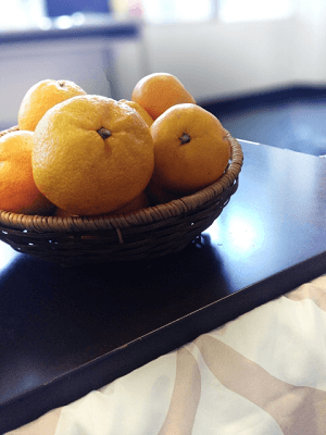 Oranges on Kotatsu