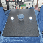 "Traditional Japanese heated table ""Kotatsu"" is best!"