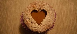 Cupcakes - Hvid chokolade/Valnødder