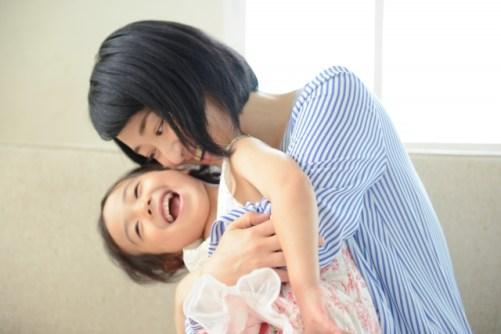 親子の触れ合い