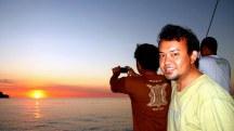 Beautiful Sunset in Alor