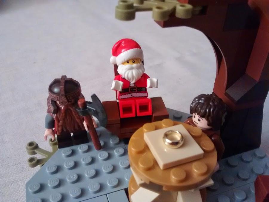 Santa and the Precious