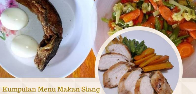 Kumpulan menu makan siang by member group DEBM 13 januari 2018