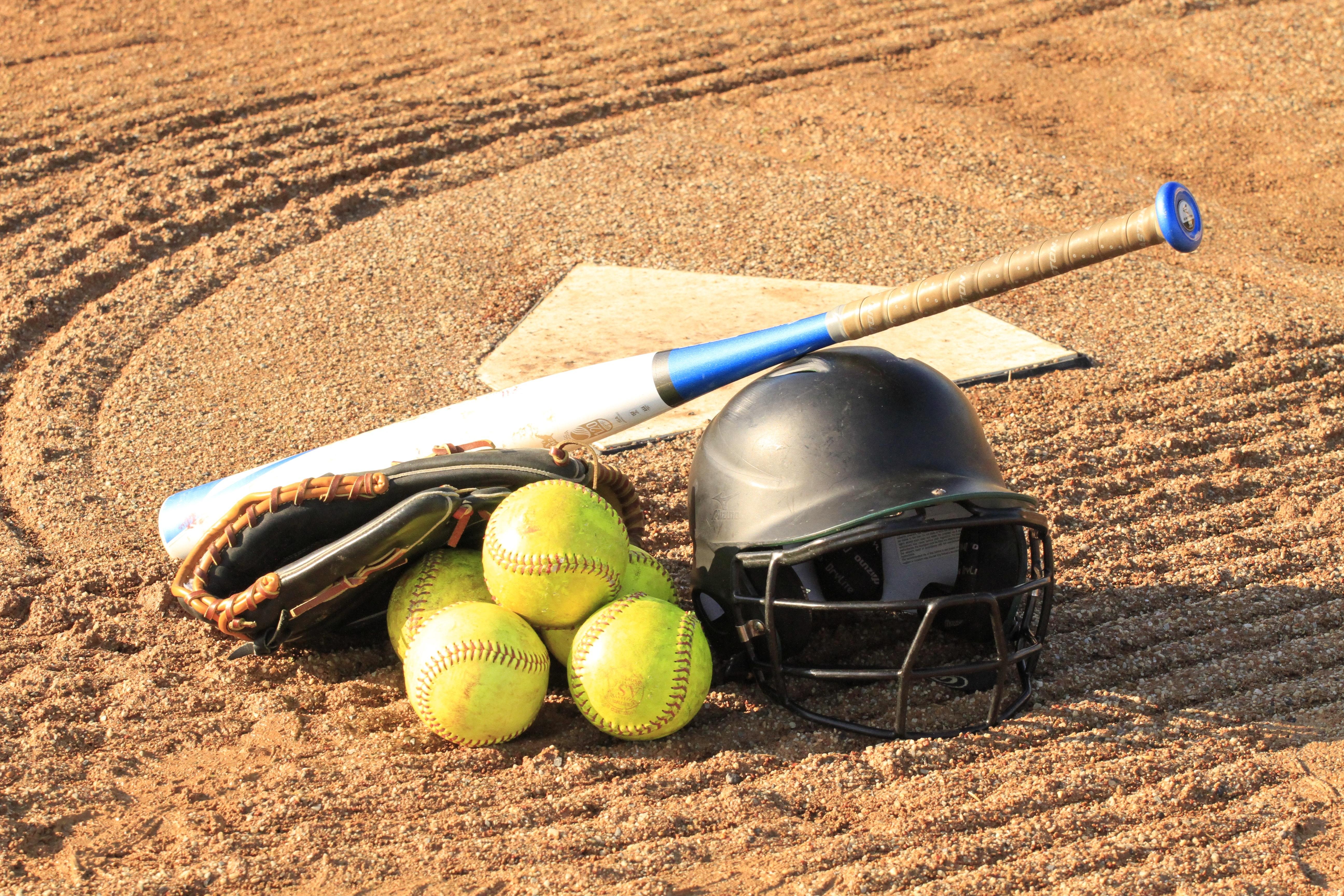 球 - 棒球球棒棒球手套-257970