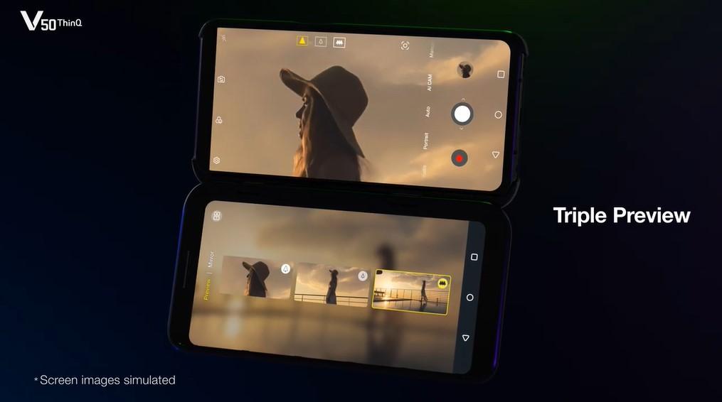 圖片截自LG Mobile Global影片