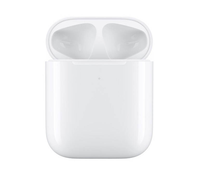 AirPods 充電盒開蓋正面
