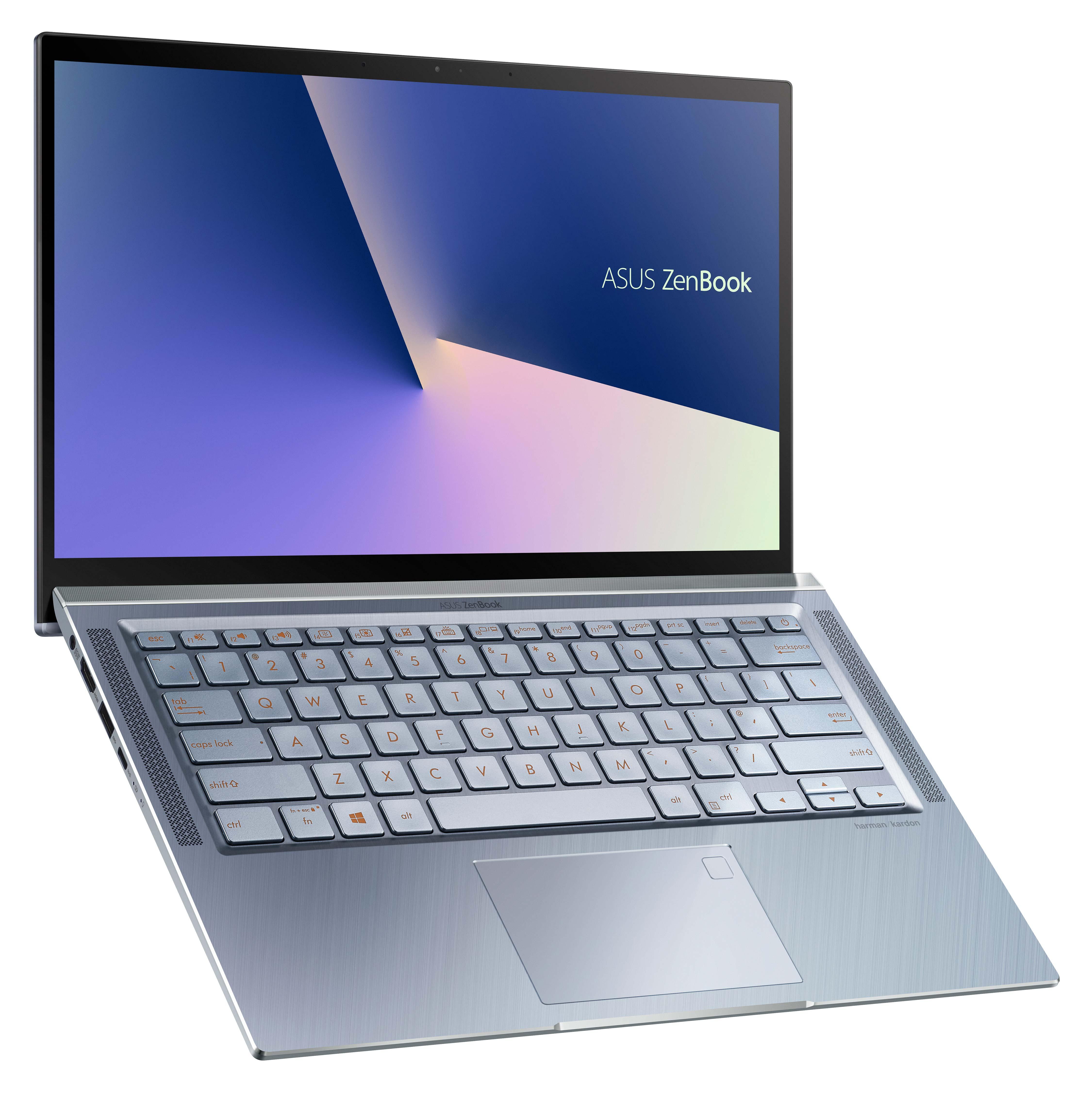 ASUS ZenBook 14歷經嚴格的MIL-STD 810G軍規認證,擁有超越業界標準的耐用與可靠性,「冰河藍」即日起上市。