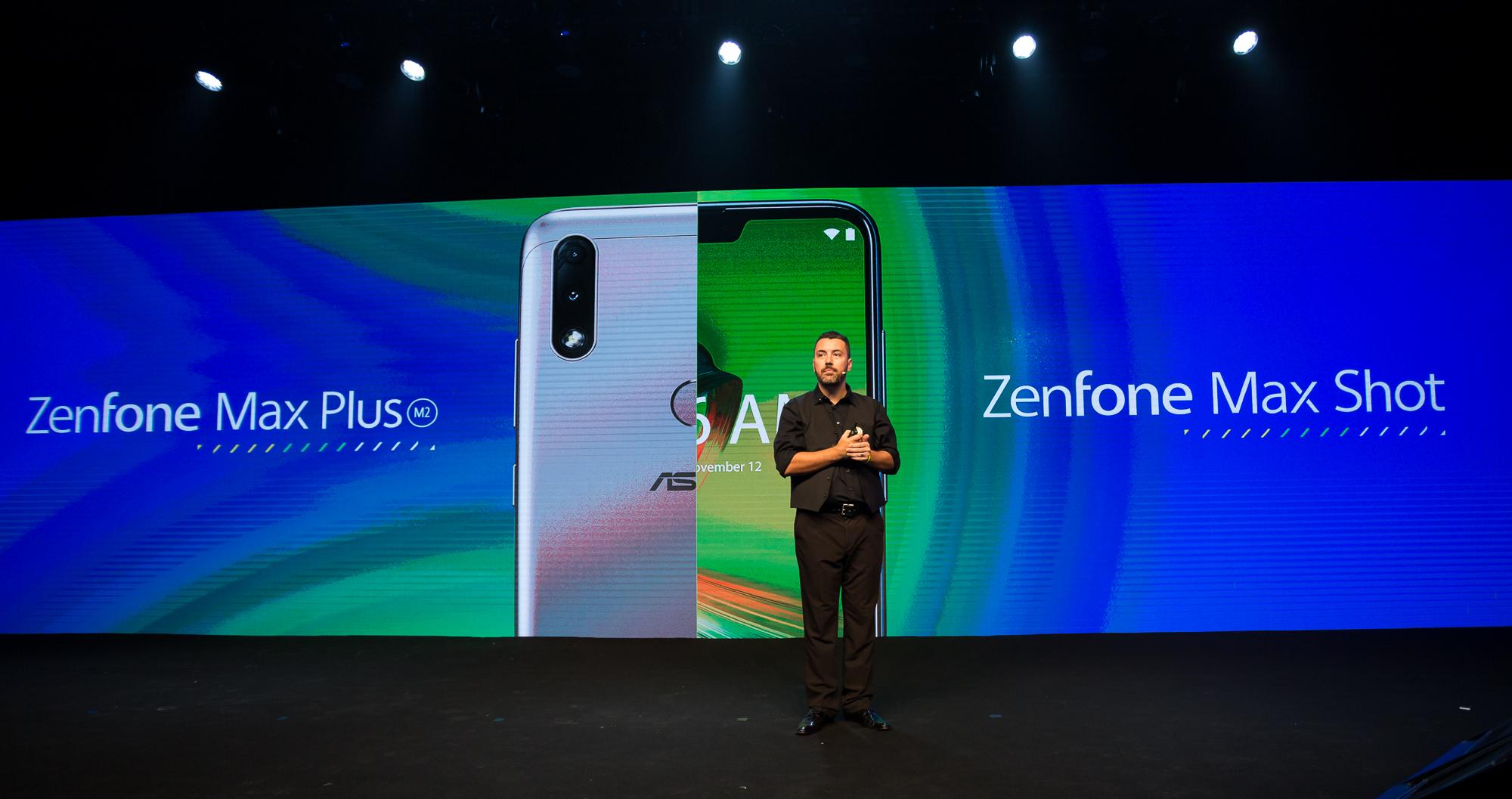 QSiP智慧型手機 ZenFone Max Shot。