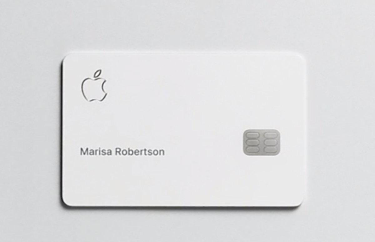 Apple Card 實體卡