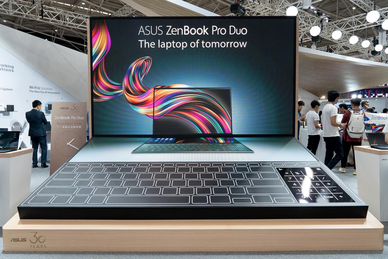 ASUS ZenBook Pro Duo(UX581)互動裝置為華碩攤位亮點