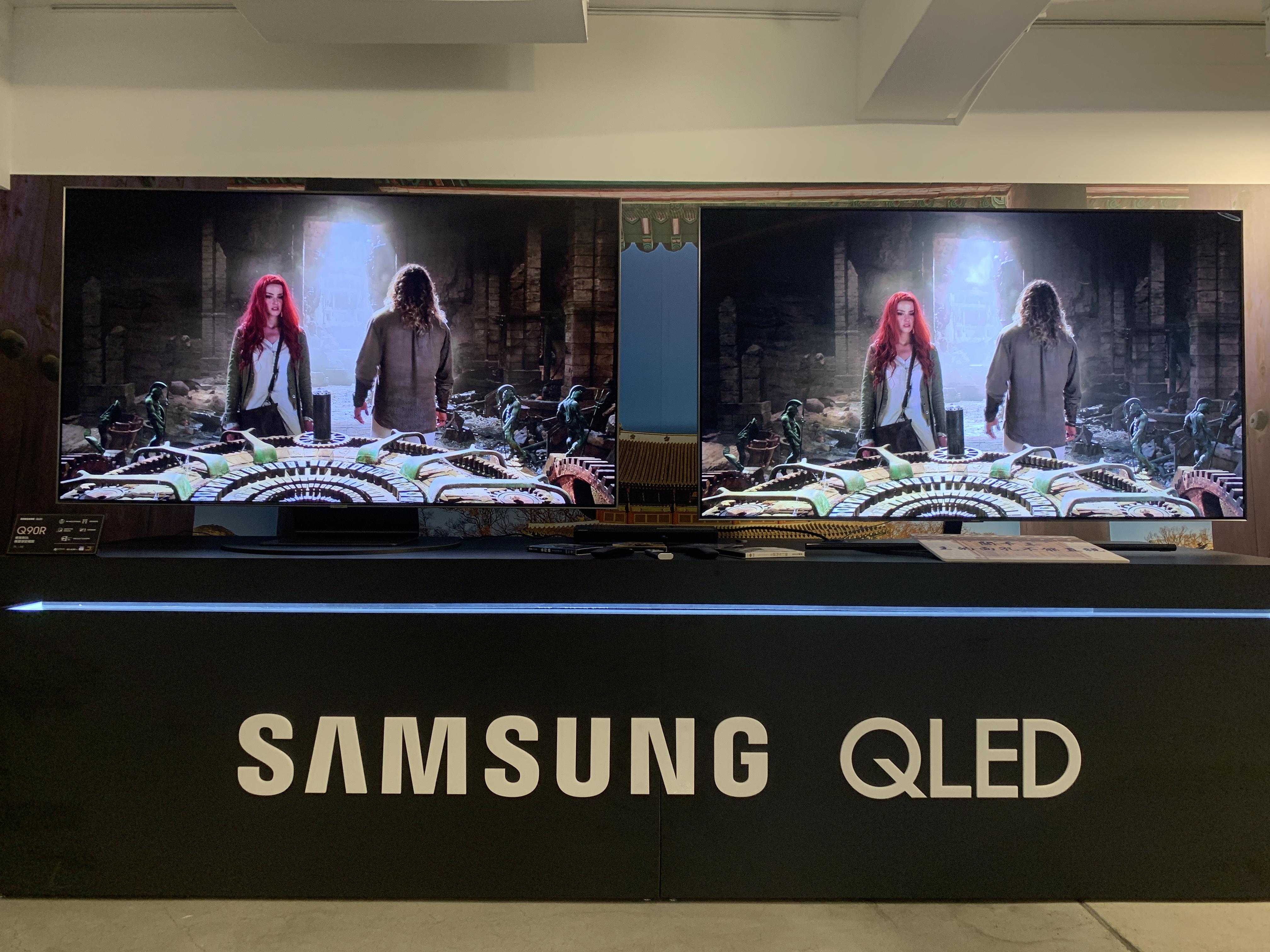 2019 Samsung QLED 8K量子電視 究極黑面板