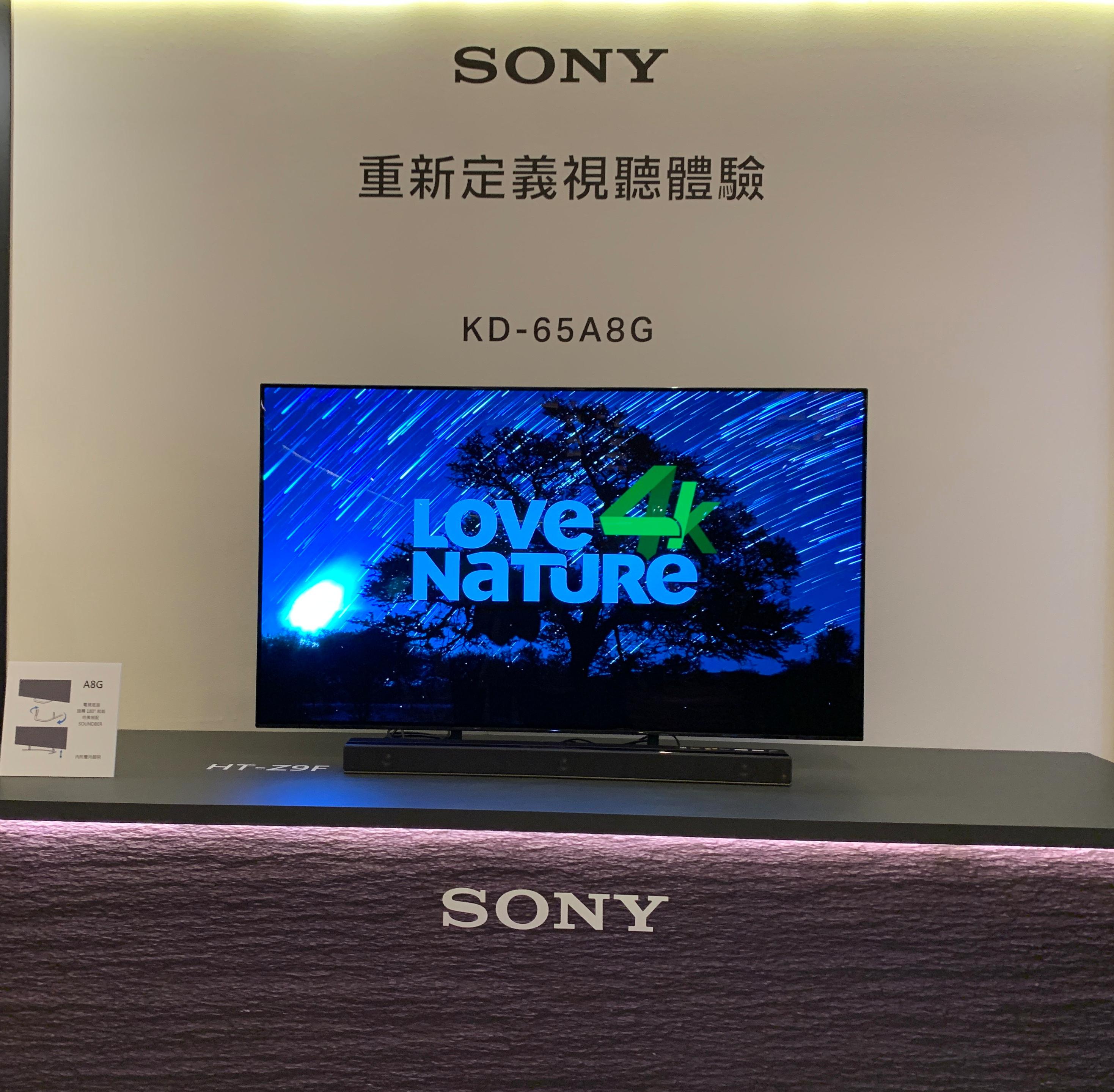 2019 Sony BRAVIA 電視