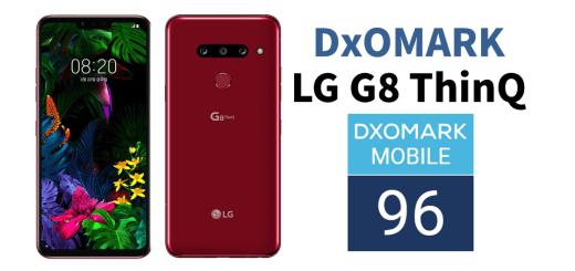 LG G8 ThinQ DxO