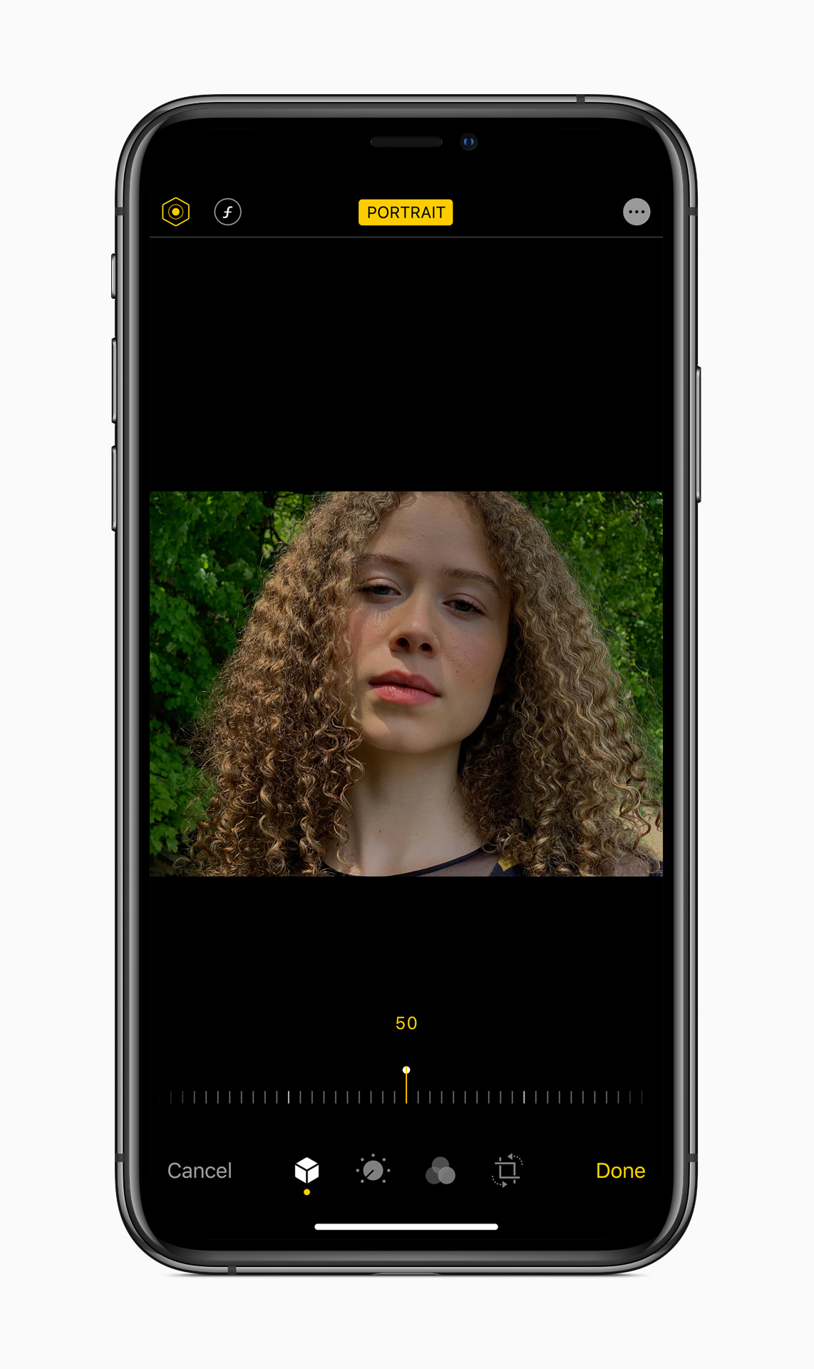 Apple-ios-13-portrait-screen-iphone-xs-06032019