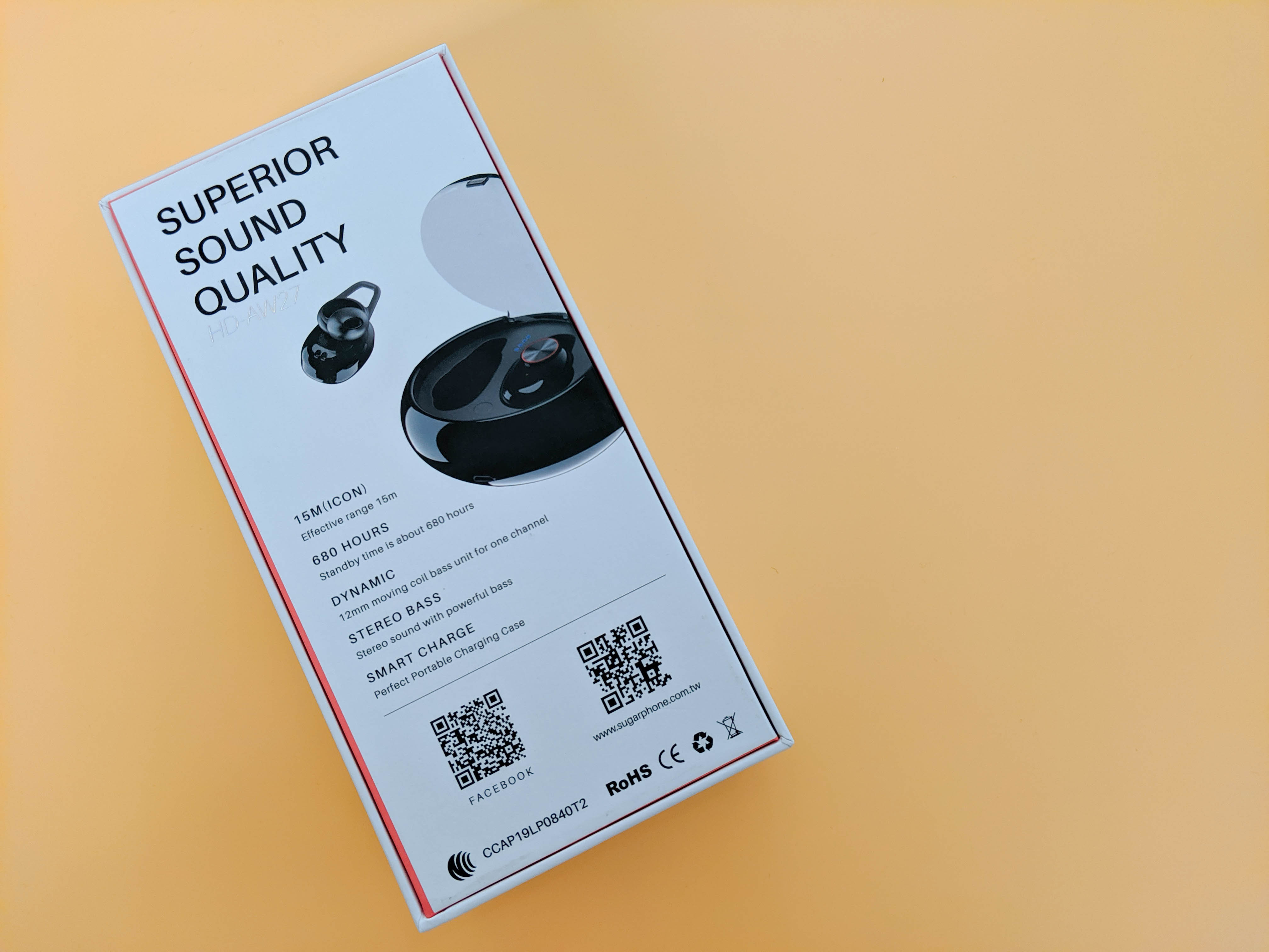 平價真無線值不值得買?SUGAR 真無線藍牙運動耳機 (HD-AW27) - 4