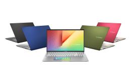 ASUS VivoBook S系列延推出銀定了、超能綠、不怕黑、藍不倒與狠想紅等五款配色供消費者選擇。