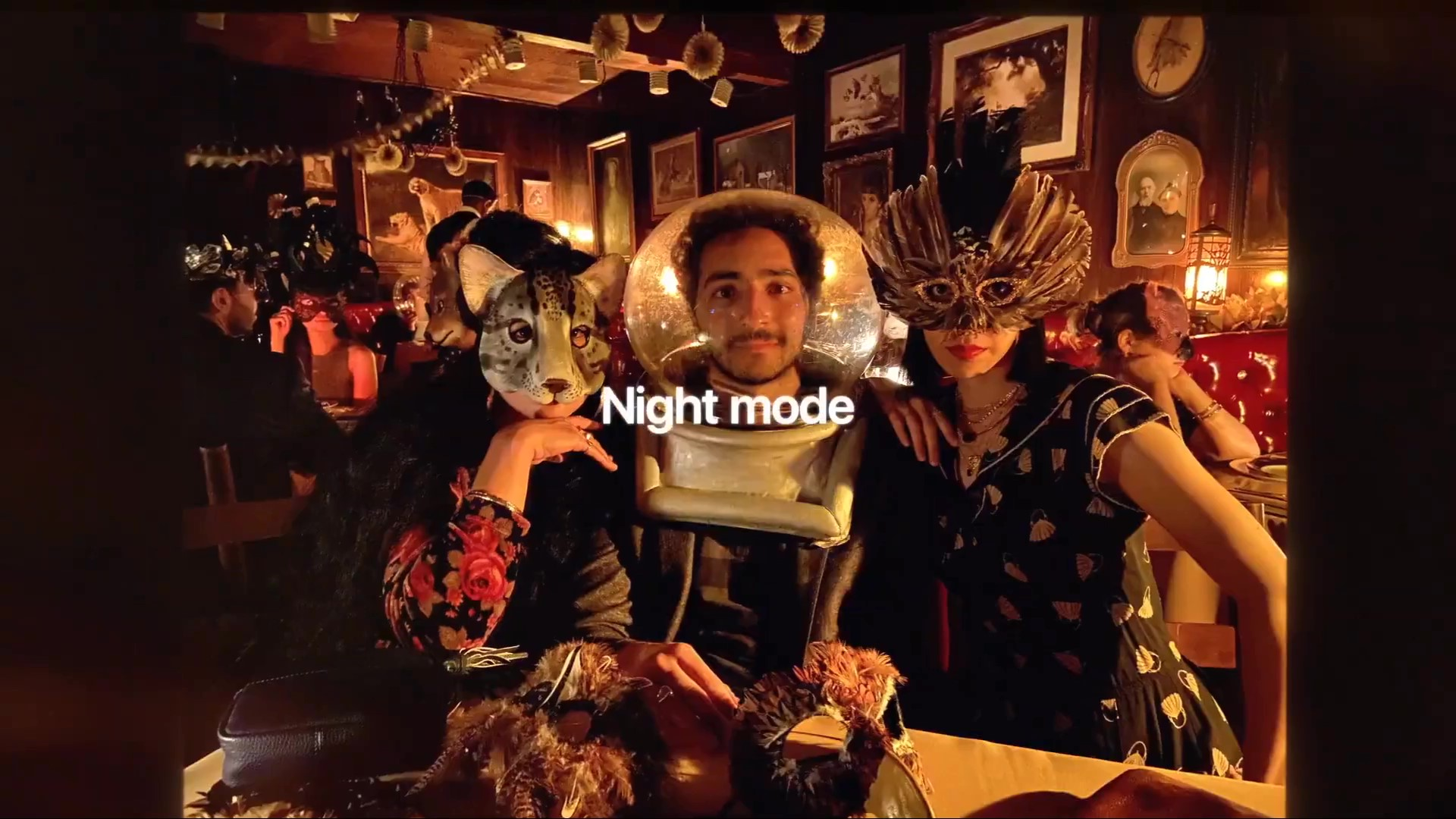Night mode 夜拍功能