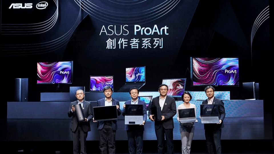 ASUS ProArt 創作者系列新品搶先全球在台接力上市
