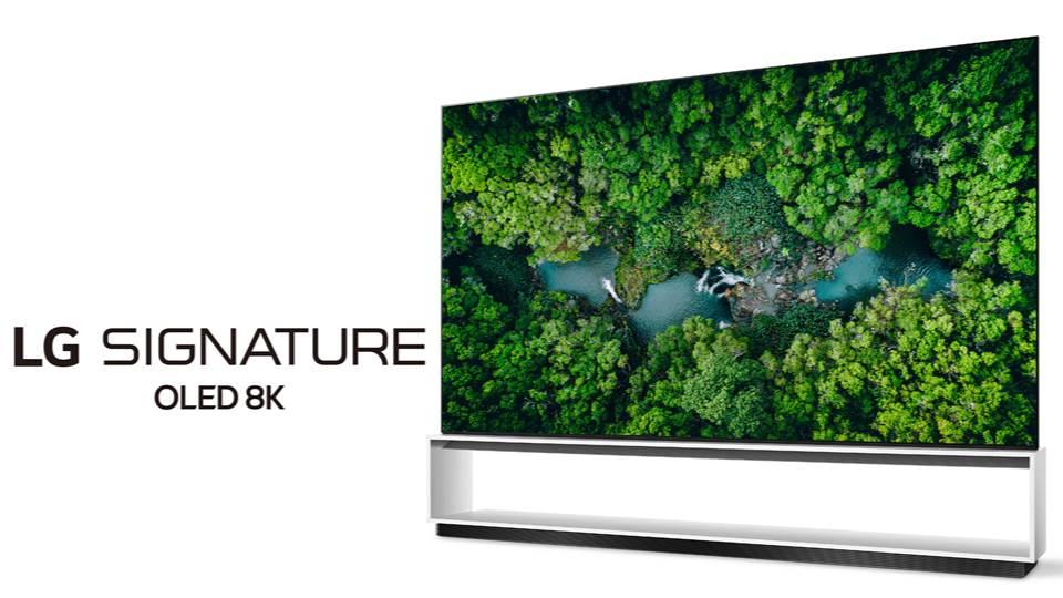 LG 於2020 CES大展發表全新真 8K 電視系列