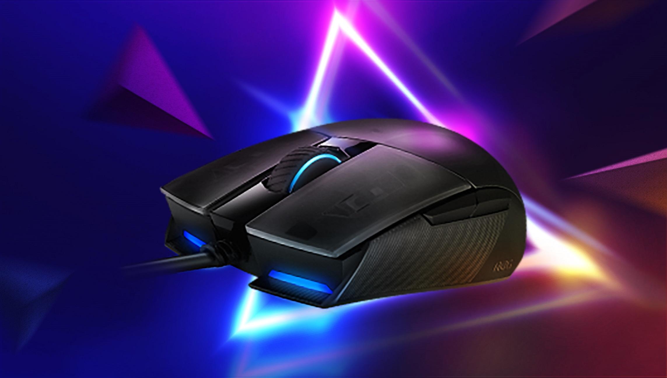 ROG Strix Impact II主打6,200-dpi光學感測器、輕量設計、雙手通用等特色,為喜愛輕量手感玩家們的電競滑鼠首選。