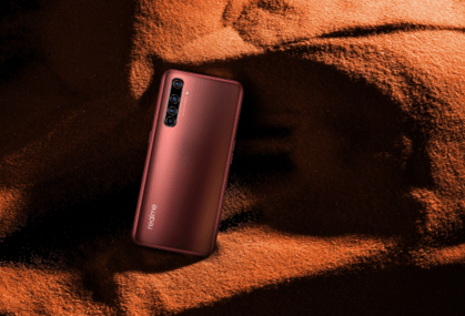 realme X50 Pro 5G(紅繡色)。