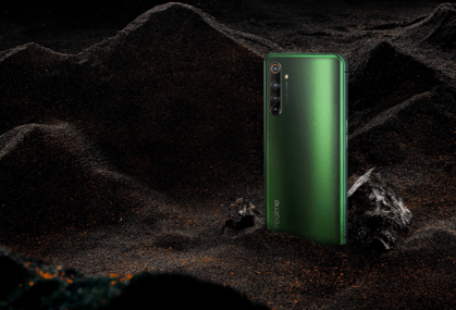realme X50 Pro 5G(青苔色)。