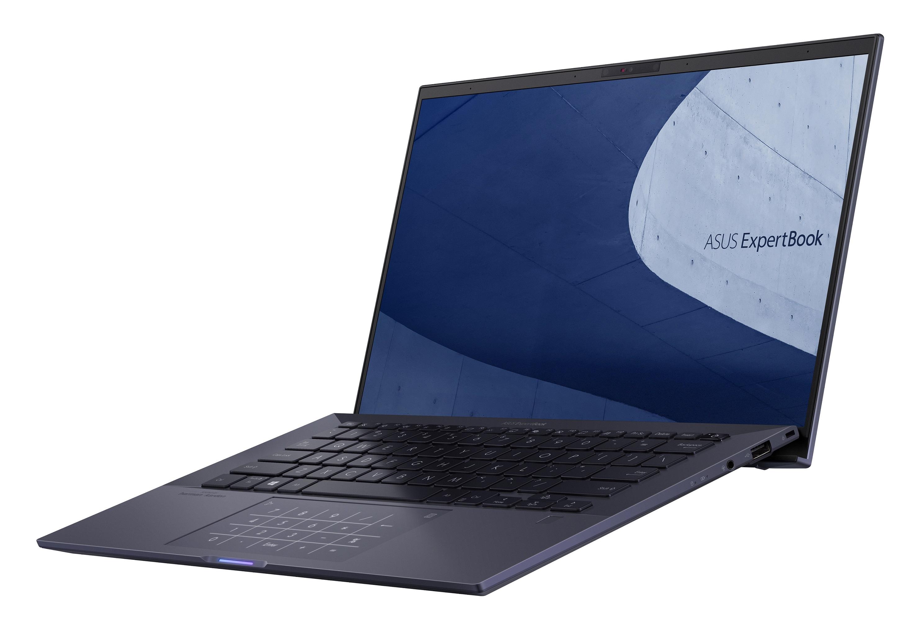 ASUS ExpertBook B9通過Intel雅典娜筆電創新計畫認證,其集結超凡效能、極致輕薄、電池續航力、高螢幕佔比等特點,讓用戶能盡享優越使用體驗。