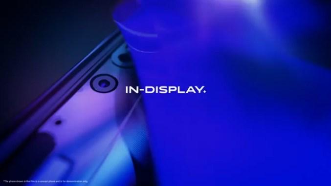 vivo APEX 2020 螢幕下前鏡頭