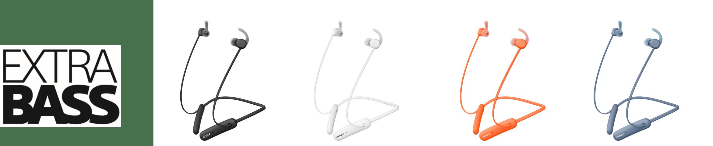 5) WI-SP510專為運動設計的高規格IPX5的防水係數,並承襲EXTRA BASS系列重低音特色,運動過程中聆聽音樂更為享受並提升表現。