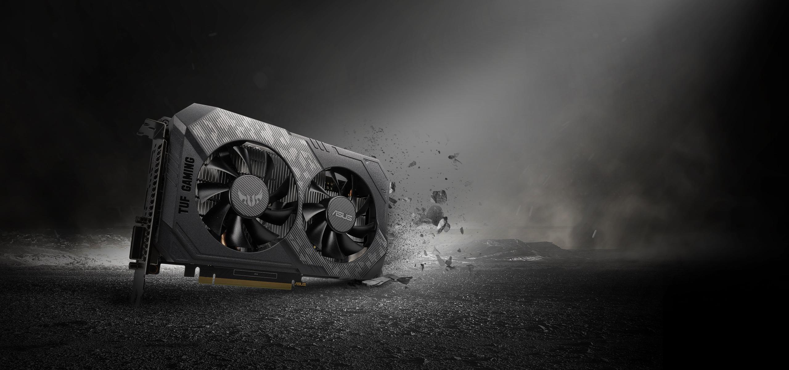 ASUS TUF Gaming GeForce GTX 1650 GDDR6顯示卡具備強大效能、絕佳散熱與強韌耐用等絕佳特點,為硬派玩家不可錯過的裝備首選。