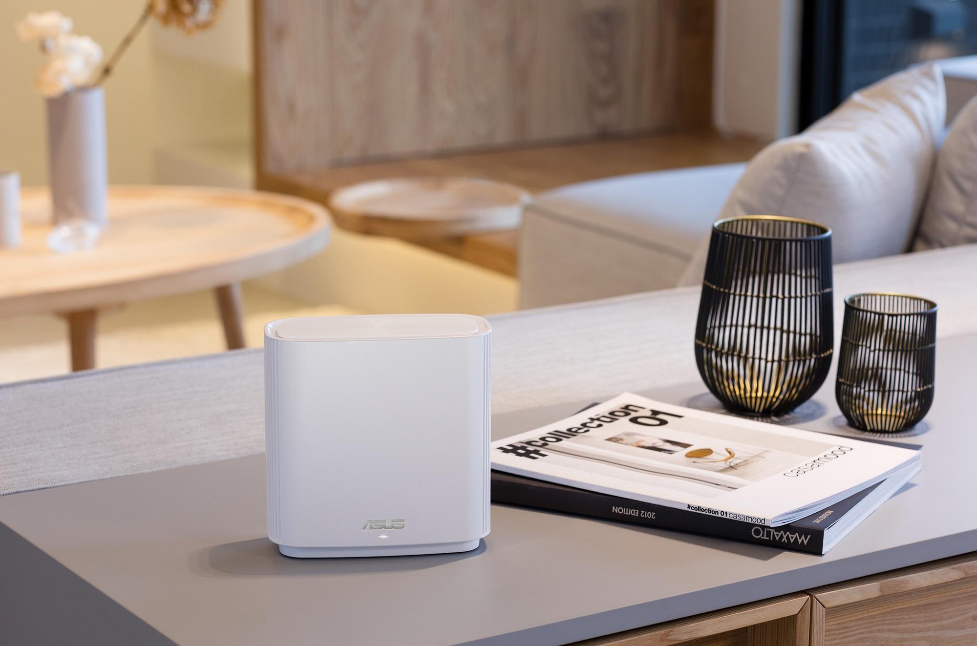 ASUS-ZenWiFi-AC (CT8)全新推出冰心白配色,其內蘊強大的Mesh-Wi-Fi連網能力,讓用戶盡享快速穩定且零死角的無線連網體驗。