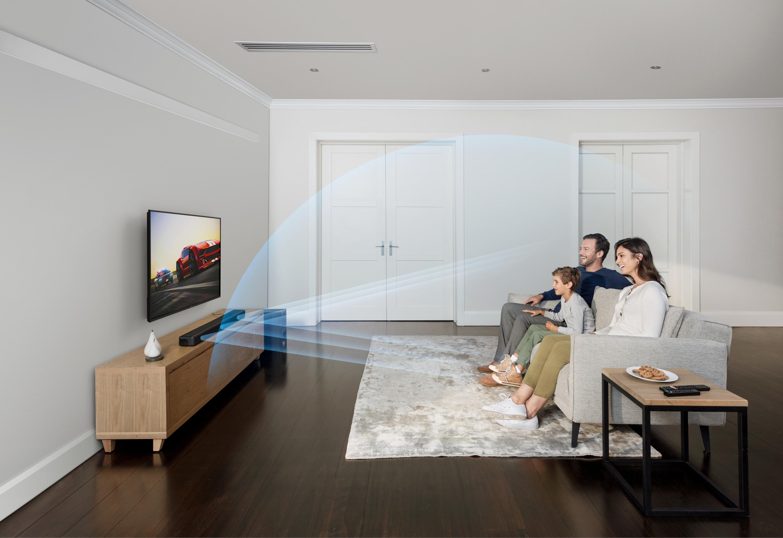 5) Sony年度推薦HT-G700單件式環繞音響,輕鬆入宅提供多元影音享受不同凡響的磅礡音效