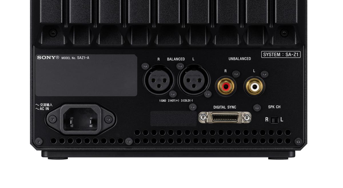 8)SA-Z1配備完整的音源輸入介面,滿足所有頂級音響迷心之所望的極致個人聆聽體驗