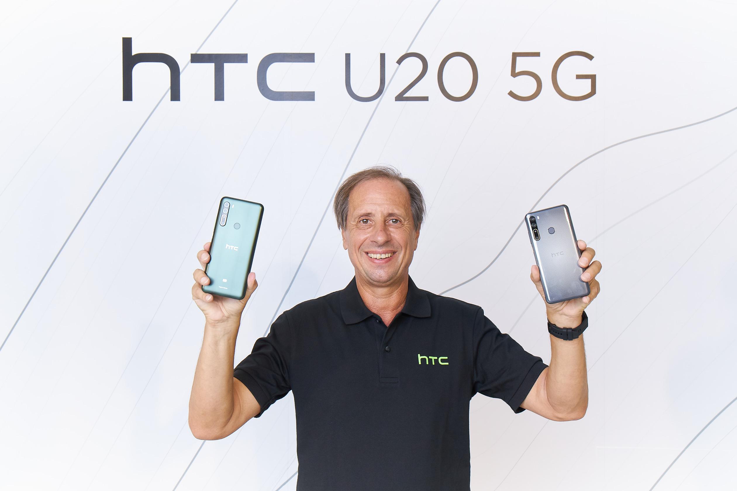 HTC CEO Yves Maitre新聞照片