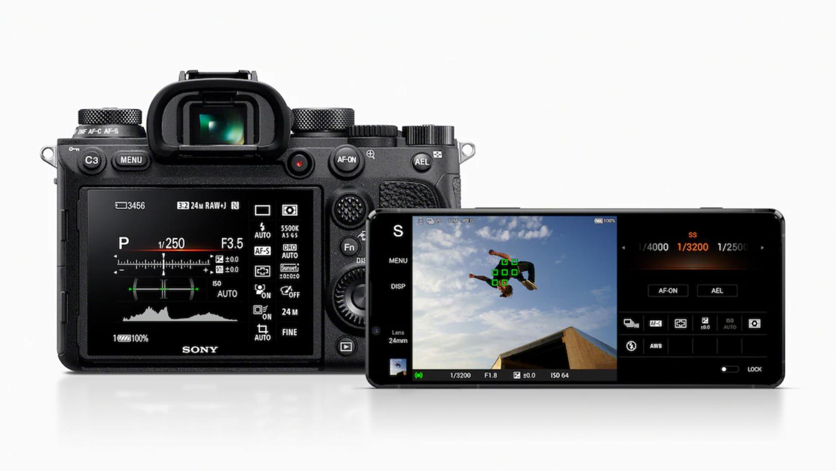 Xperia 1 II全新加入Photo Pro專業單眼相機模式,導入Sony α相機使用介面