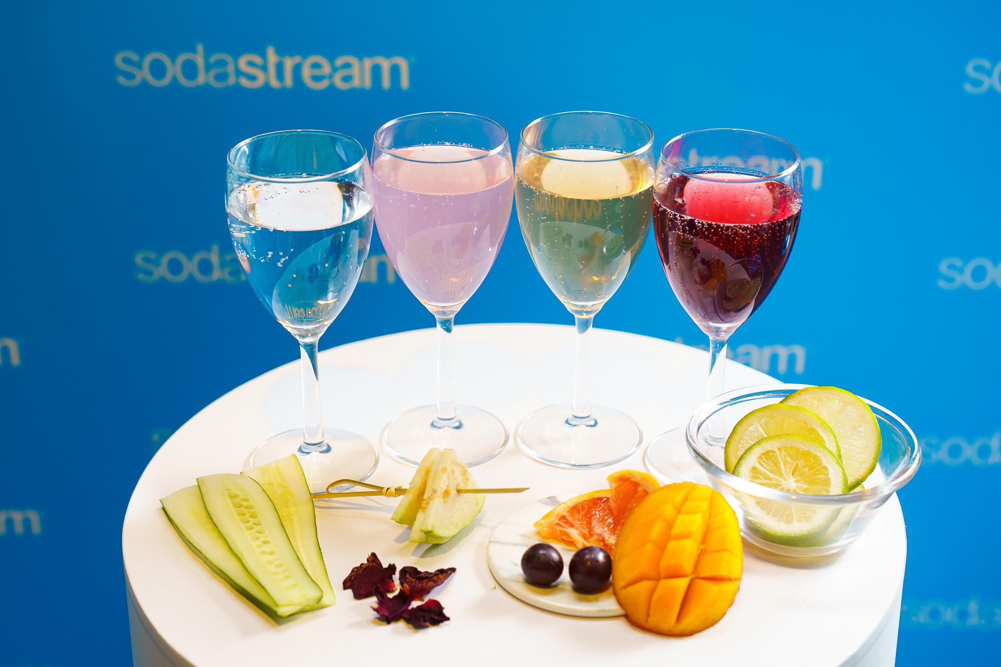 sodastream令人驚豔的氣泡水口感,現場特別準備了派對限定特調,邀請消費者選擇自己最對味的飲品和氣泡濃度,sodastream邀你恣意享受你的專屬特調!
