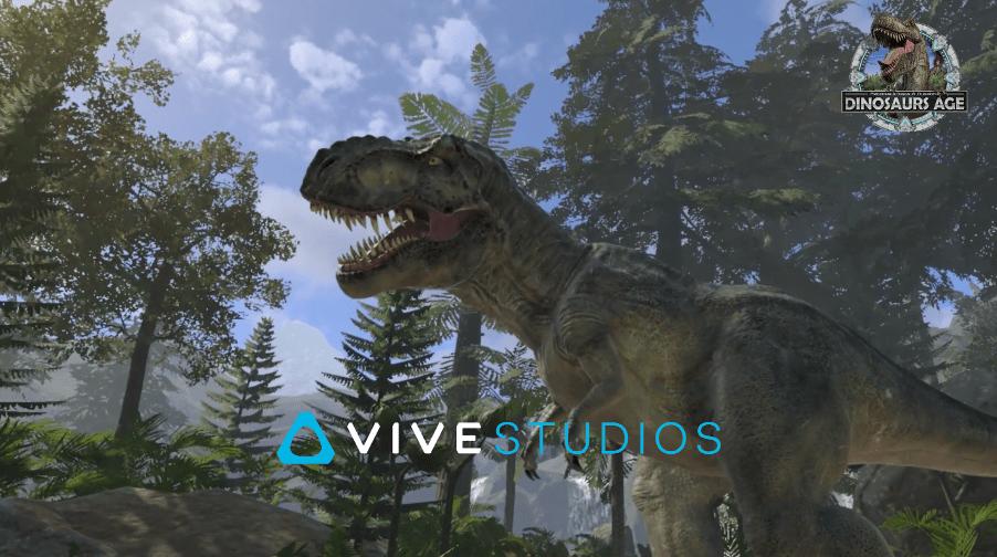 HTC新聞圖(VIVE Studios首款原創自製XR擴展實境內容《VIVE XR 科幻傳送門:跨越虛實恐龍叢林》)