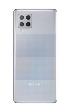 【新聞照片4】Galaxy A42 5G_絢幻灰_背面