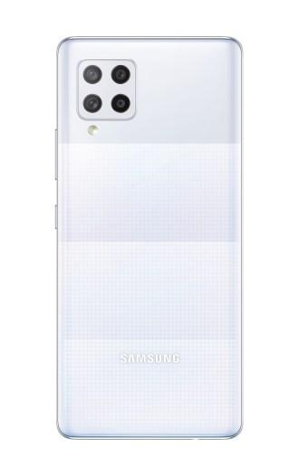 【新聞照片7】Galaxy A42 5G 8+128GB_絢幻白_背面