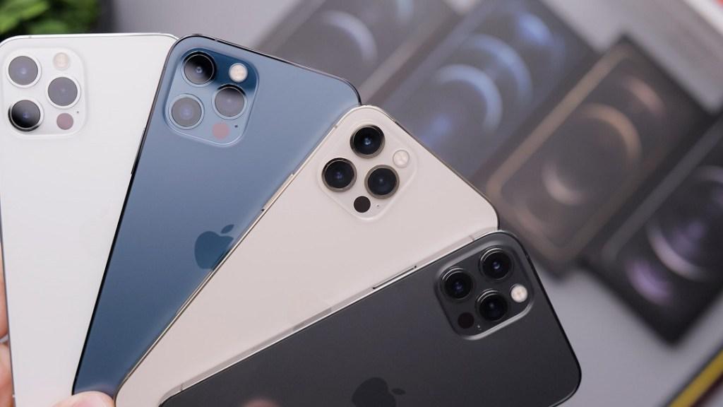 單價較高的蘋果iPhone 12系列支援5G全頻