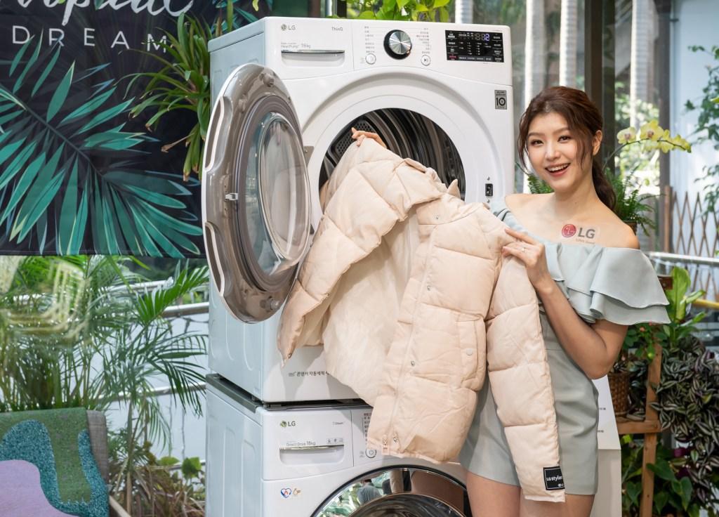 LG 免曬衣乾衣機新增多達15種客製化乾衣模式,以不同的乾衣行程解決各種衣料的乾衣問題。