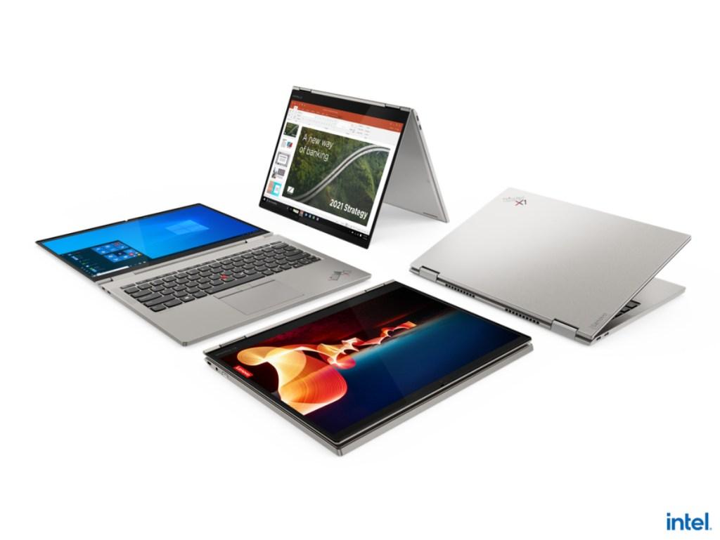 今年CES甫登場的ThinkPad X1 Titanium Yoga是史上最薄的ThinkPad產品,具備360度翻轉功能符合多元使用模式。