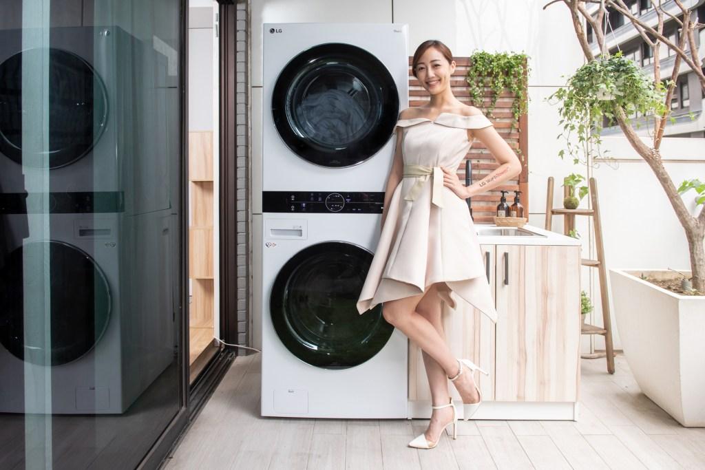 LG WashTower™ AI智控洗乾衣機