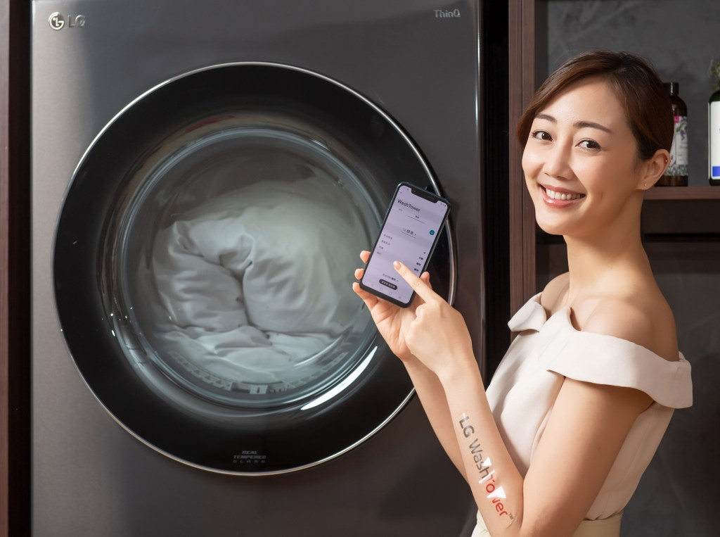 LG-WashTower™-AI智控洗乾衣機連結LG-ThinQ™-App