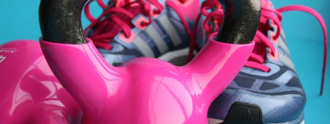 Kettlebell rosa, Trainingsschuhe, Preise Personal Training
