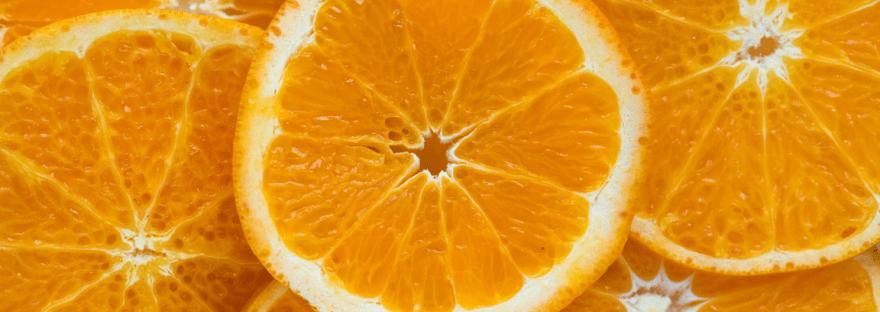 Faszientraining: Die Orange als Sinnbild für gesunde Faszien