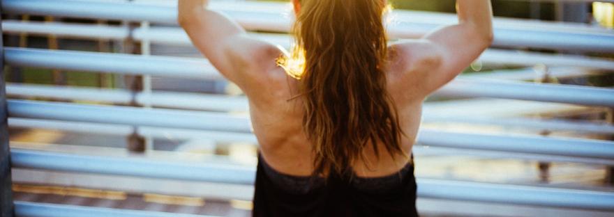 Diät für Definition Fitness Frau