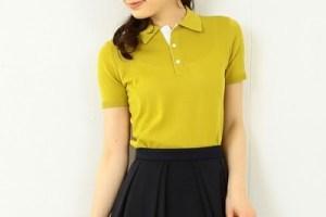 ポロシャツ 黄色