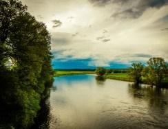 Foto, Mulde in Sachsen